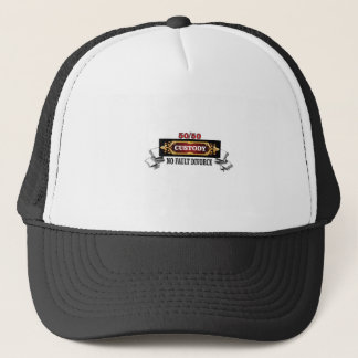 50 50 fathers rights, trucker hat