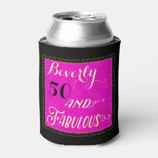 50 and Fabulous Fun Art Deco Can Cooler