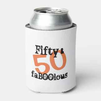 50 and Fabulous Halloween - Fifty and FaBOOlous Can Cooler