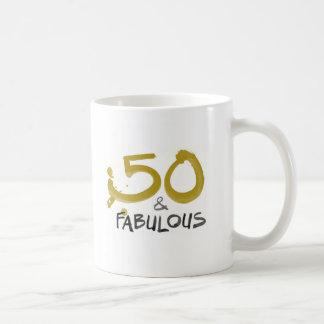 50 and Fabulous Hot Drink Mug