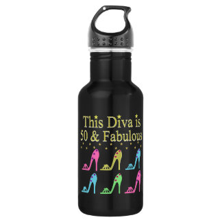 50 AND FABULOUS SHOE QUEEN 532 ML WATER BOTTLE
