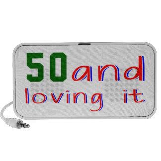 50 and loving it iPod speaker