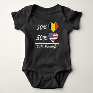 50% Belgian 50% American 100% Beautiful Baby Bodysuit
