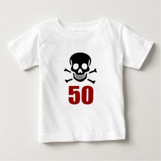 50 Birthday Designs Baby T-Shirt