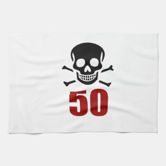 50 Birthday Designs Kitchen Towel
