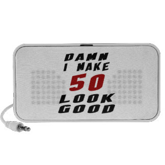 50 Birthday Designs Mini Speakers