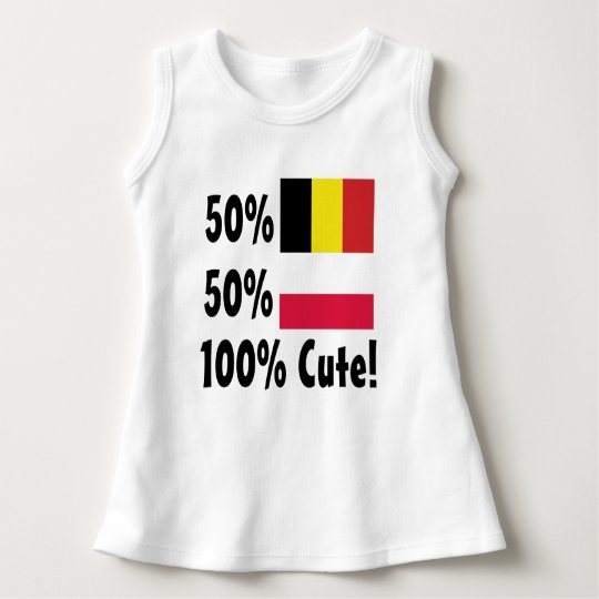 50% Blegian 50% Polish 100% Cute Dress