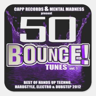 50 Bounce Tunes Sticker