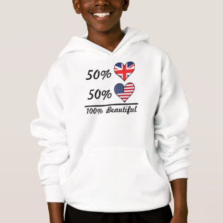 50% British 50% American 100% Beautiful