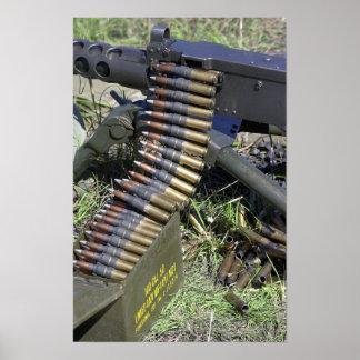 .50 Cal Machine Gun Poster