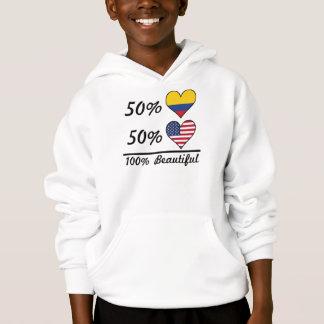 50% Colombian 50% American 100% Beautiful