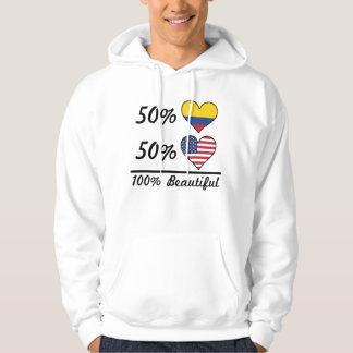 50% Colombian 50% American 100% Beautiful Hoodie