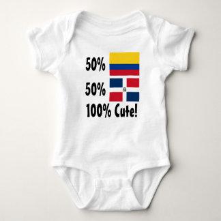 50% Colombian 50% Dominican 100% Cute Baby Bodysuit