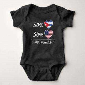 50% Cuban 50% American 100% Beautiful Baby Bodysuit
