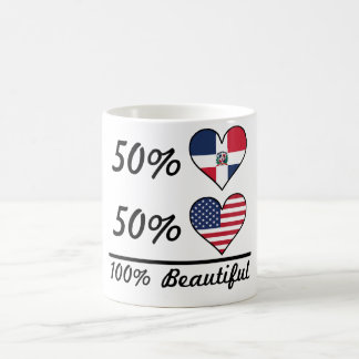 50% Dominican 50% American 100% Beautiful Coffee Mug