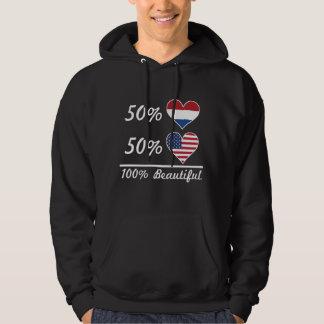50% Dutch 50% American 100% Beautiful Hoodie