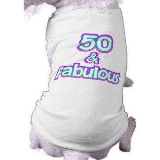 50 & Fabulous Birthday Gifts Shirt