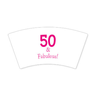 50 & Fabulous Paper Cups