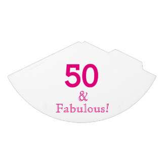 50 & Fabulous Paper Party Hats