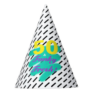 50 & Funky Fresh | Party Hat