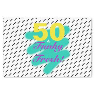 50 & Funky Fresh | Tissue Paper