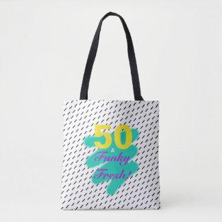 50 & Funky Fresh   Tote Bag