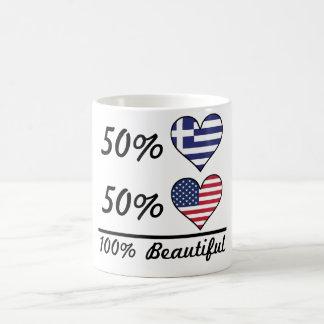 50% Greek 50% American 100% Beautiful Coffee Mug