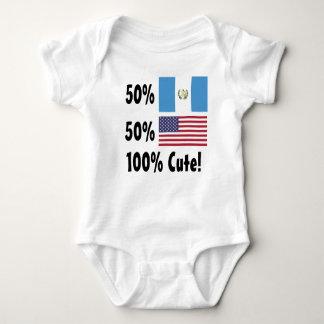 50% Guatemalan 50% American 100% Cute Baby Bodysuit