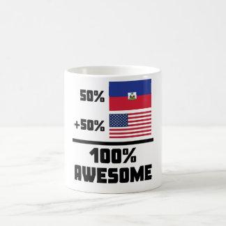 50% Haitian 50% American 100% Awesome Coffee Mug