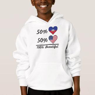 50% Haitian 50% American 100% Beautiful