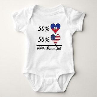 50% Haitian 50% American 100% Beautiful Baby Bodysuit