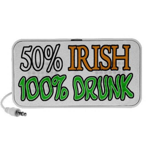 50% Irish, 100% Drunk Mp3 Speakers