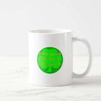 50% Irish 50% Dutch 100% Awesome Mugs