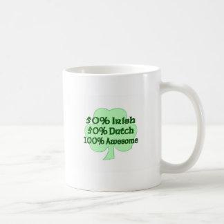 50% Irish 50% Dutch 100% Drunk Coffee Mug