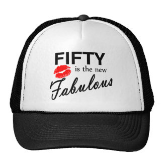 50 Is The New Fabulous Mesh Hat