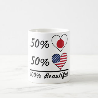 50% Japanese 50% American 100% Beautiful Coffee Mug