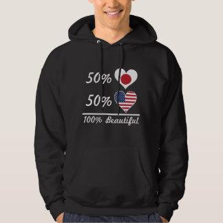 50% Japanese 50% American 100% Beautiful Hoodie