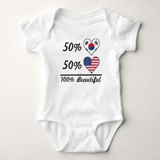 50% Korean 50% American 100% Beautiful Baby Bodysuit