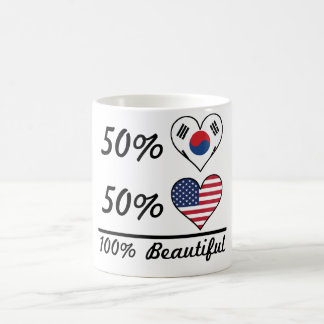 50% Korean 50% American 100% Beautiful Coffee Mug