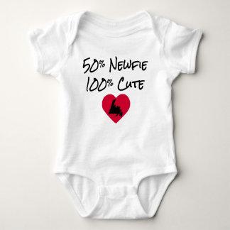 50% Newfie - 100% mignon Tee-shirt