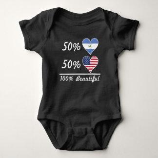 50% Nicaraguan 50% American 100% Beautiful Baby Bodysuit