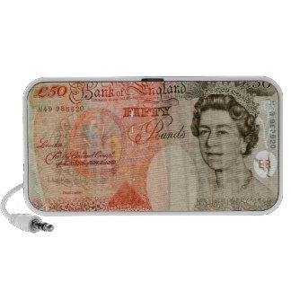 £50 note notebook speakers