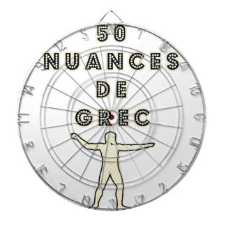 50 NUANCES OF GREEK - Word games - François City Dartboard