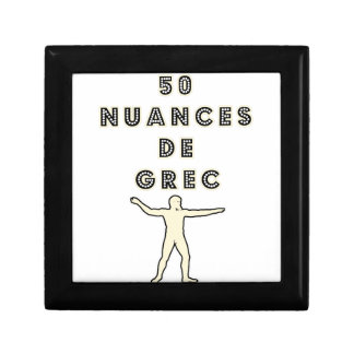 50 NUANCES OF GREEK - Word games - François City Gift Box