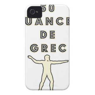 50 NUANCES OF GREEK - Word games - François City iPhone 4 Covers