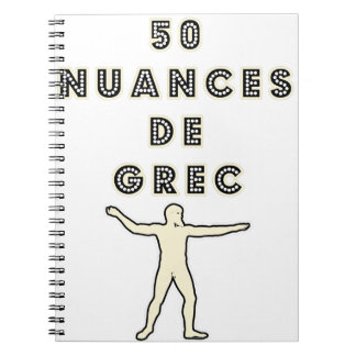 50 NUANCES OF GREEK - Word games - François City Notebook