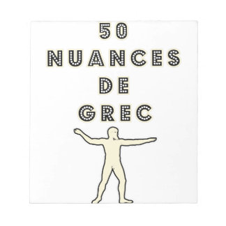 50 NUANCES OF GREEK - Word games - François City Notepad