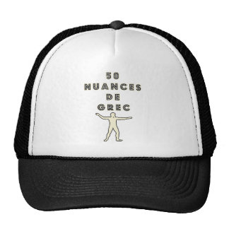 50 NUANCES OF GREEK - Word games - François City Trucker Hat