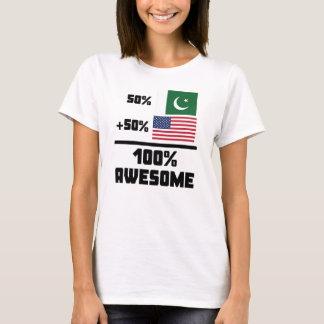 50% Pakistani 50% American 100% Awesome T-Shirt