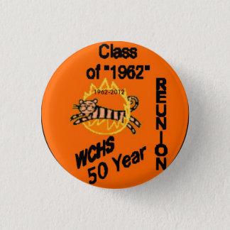 50 Reunion Button, 1962-2012 1 Inch Round Button